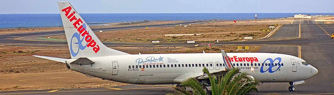 Live Gallery from Lanzarote Airport