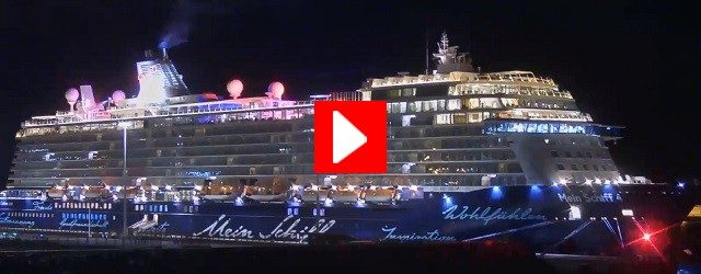 Lanzarote Cruise Ship Dock Webcam